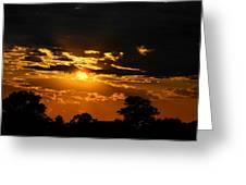 Dark Sun Greeting Card
