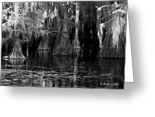 Dark Water Greeting Card