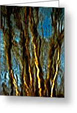 Dark Wood Greeting Card