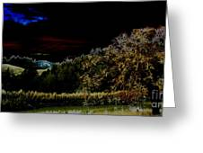 Darkness At The Edge Of Dawn Greeting Card