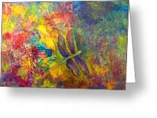 Darling Dragonfly Greeting Card
