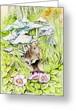 Darling Mouse Greeting Card