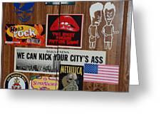 Dartboard Box Greeting Card