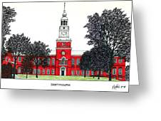 Dartmouth Greeting Card by Frederic Kohli