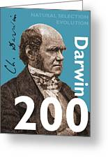 Darwin 200 Greeting Card