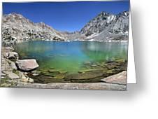 Darwin Canyon Lower Lake - Sierra Greeting Card