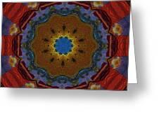 Das Bunte Kaleidoskop Greeting Card