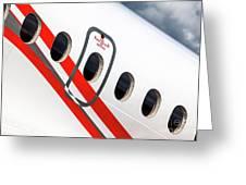 Dassault Falcon 900ex 1 Greeting Card