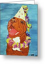 Date With Paint Feb 19 Kayna Greeting Card