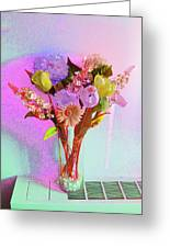 Dating Flowers Greeting Card