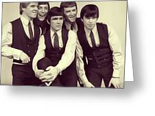 Dave Clark Five Greeting Card