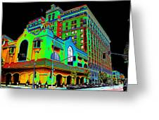 Davenport Hotel Downtown Spokane Greeting Card