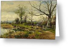 David Bates England Greeting Card