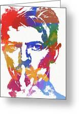 David Bowie Greeting Card