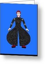 David Bowie - Moonage Daydream Greeting Card