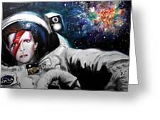 David Bowie, Star Man Greeting Card