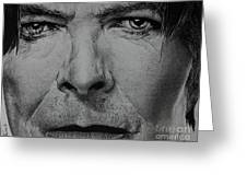 David Bowie - Eyes Of The Starman Greeting Card