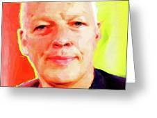 David Gilmour # 001 Nixo Greeting Card