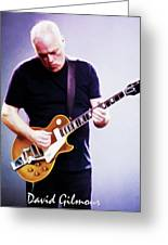 David Gilmour By Nixo Greeting Card