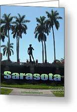 David In Sarasota Greeting Card