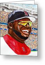 David Ortiz Greeting Card