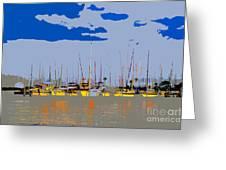 Davis Island Yachts Greeting Card