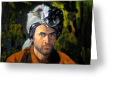 Davy Crockett Greeting Card