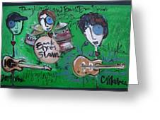 Davy Knowles And Back Door Slam Greeting Card