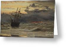 Dawn After The Storm Greeting Card