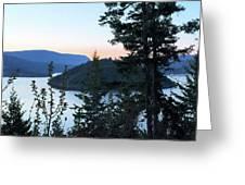 Dawn At Copper Island Greeting Card