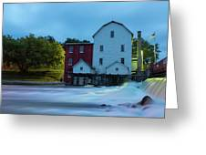 Dawn At Phelps Mill Greeting Card