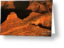 Dawn At The Grand Canyon Greeting Card