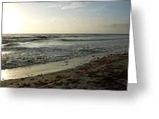 Dawn Beach Greeting Card