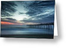 Dawn Breaking Through Greeting Card