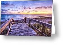 Dawn Colors Greeting Card