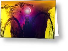 Dawn In A New Era Greeting Card