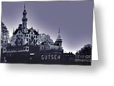 Dawn In Lucerne Greeting Card