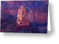 Dawn Mount Hayden Point Imperial North Rim Grand Canyon National Park Arizona Greeting Card by Dave Welling