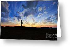 Dawn Of A New Day Sunrise 140a Greeting Card
