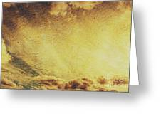 Dawn Of A New Day Texture Greeting Card