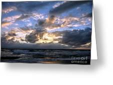 Dawn Of A New Day Treasure Coast Florida Seascape Sunrise 138 Greeting Card