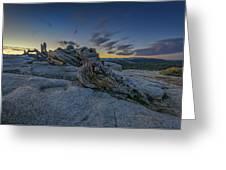 Dawn On Sentinel Greeting Card