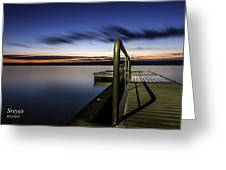 Dawn On Skaneateles Lake Greeting Card