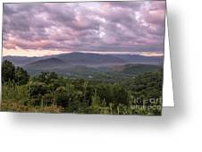 Dawn On The Foothills Parkway Greeting Card by Jemmy Archer