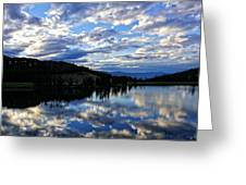 Dawn Over Big Sky Greeting Card