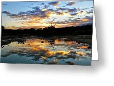 Dawn Over Boerne Creek Greeting Card
