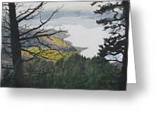 Dawn Over Eagle Nest Lake Greeting Card