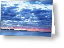 Dawn Over False Bay 2 Greeting Card