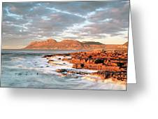 Dawn Over Simons Town South Africa Greeting Card