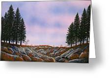 Dawn Pacific Crest Trail Greeting Card